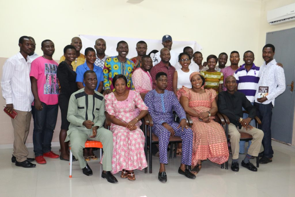 Participants at the August fellowship