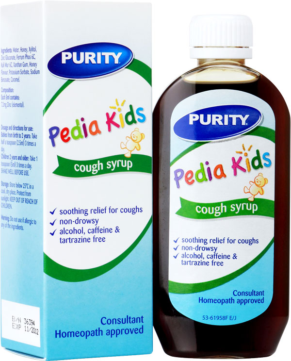 Cough mixture for kids