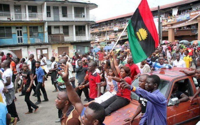 IPOB procession