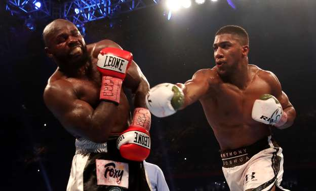 Anthony Joshua defends title