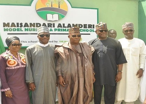 NSE Donation of block of classes in Borno State