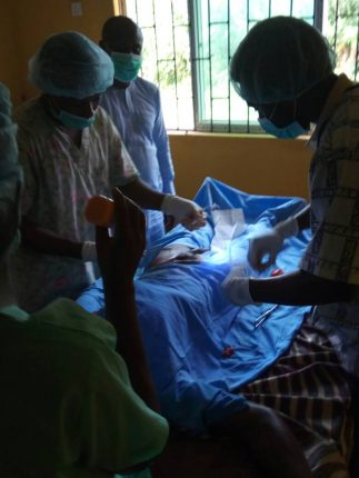 Surgical Operation Procedure