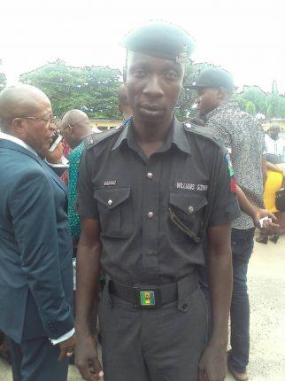police Sgt., Godwin Williams