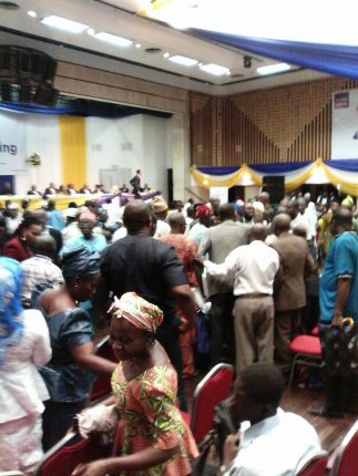 UPROAR AT FCMB AGM