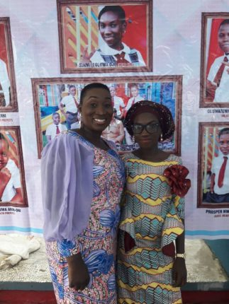 The head girl and her mum