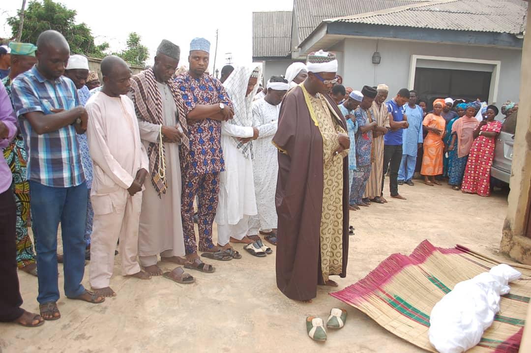 Pre-burial prayers