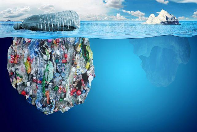 Plastics in oceans