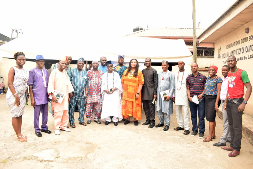 With stakeholders in Makoko