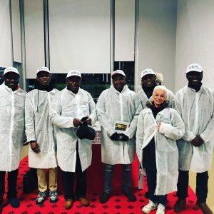 Nigerian team with French  Agricultural Councillor, Dr.Sonia Daracq