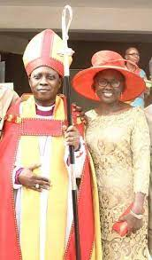 Bishop Jide Adebayo and wife